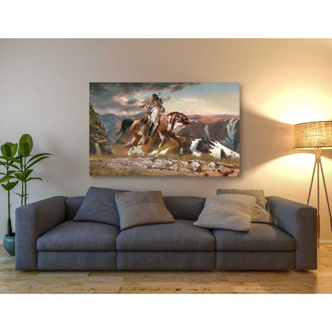 'On The Lookout' by Steve Hunziker, Giclee Canvas Wall Art