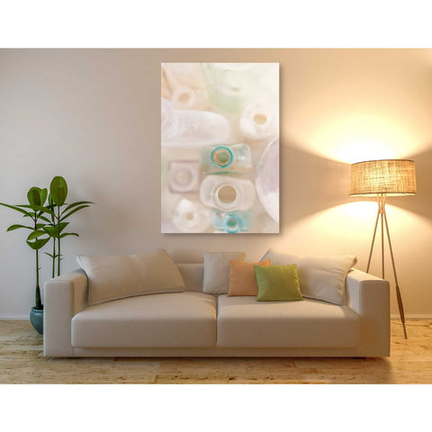 """Abstract Bottles"" by Elena Ray Giclee Canvas Wall Art"