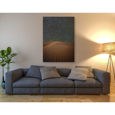 'Alone on The Dunes' by Darren White, Canvas Wall Art,40 x 60