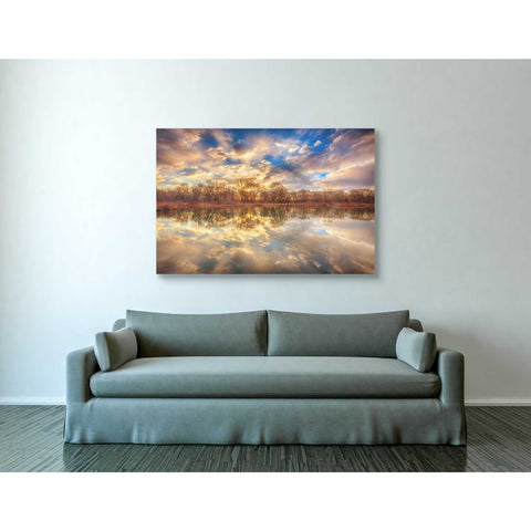 Image of 'Chatfield Sunrise' by Darren White, Canvas Wall Art,40 x 60