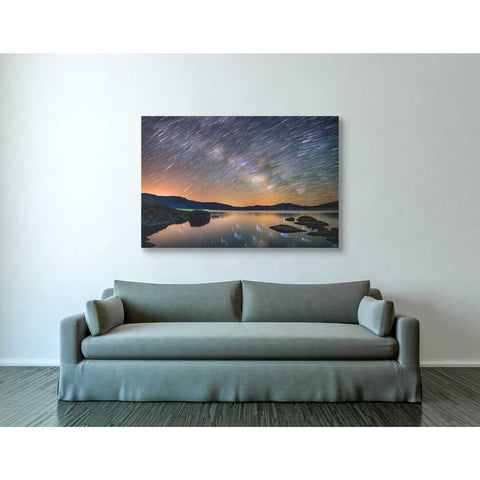 'Comet Storm' by Darren White, Canvas Wall Art,40 x 60