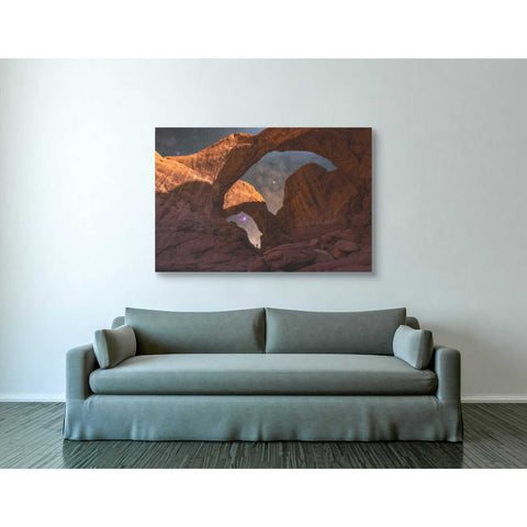 """Explore The Night"" by Darren White, Giclee Canvas Wall Art"