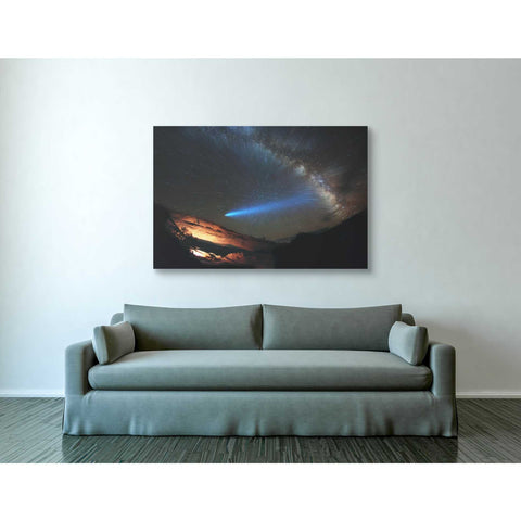 'Galactic Traveler' by Darren White, Canvas Wall Art,40 x 60