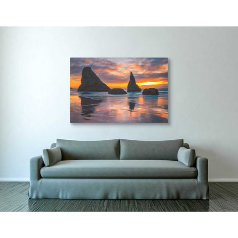 'Late Night Cloud Dance' by Darren White, Canvas Wall Art,40 x 60