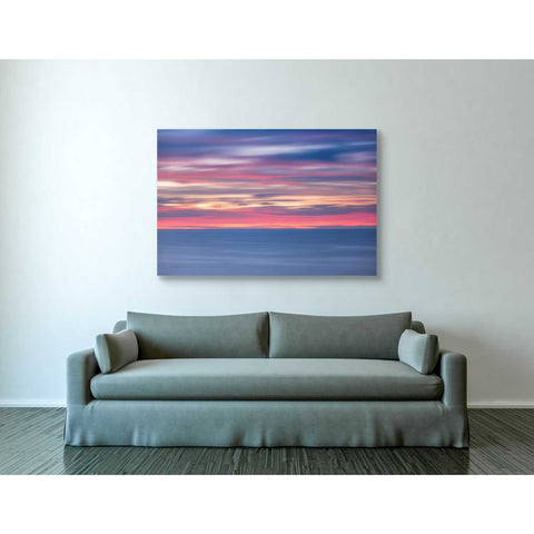 'One Minute Sunrise' by Darren White, Canvas Wall Art,40 x 60
