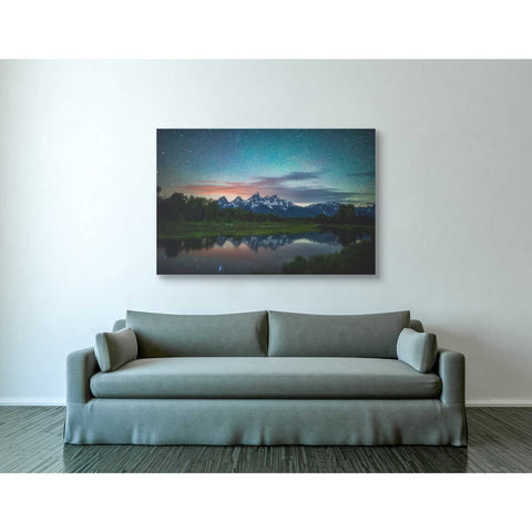 Image of 'Schwabacher Nights' by Darren White, Canvas Wall Art,40 x 60