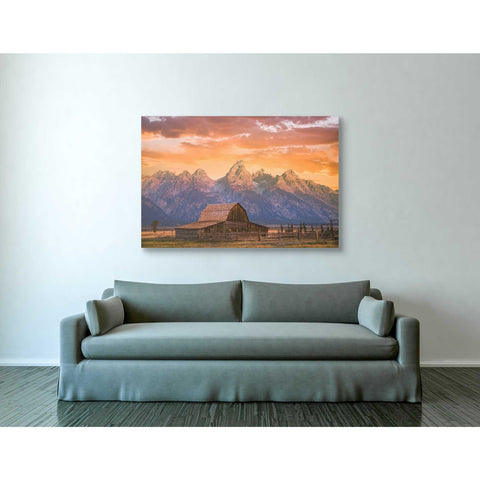 'Sunrise on the Ranch' by Darren White, Canvas Wall Art,40 x 60