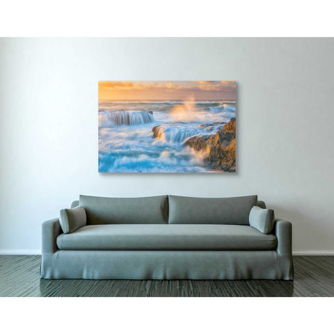 'Sunset Fury' by Darren White, Canvas Wall Art,40 x 60
