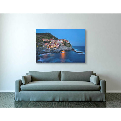 "Image of ""Riviera,"" Giclee Canvas Wall Art"