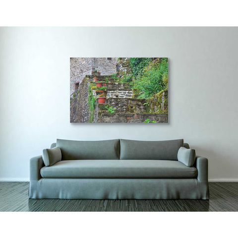 """Stone Steps,"" Giclee Canvas Wall Art"