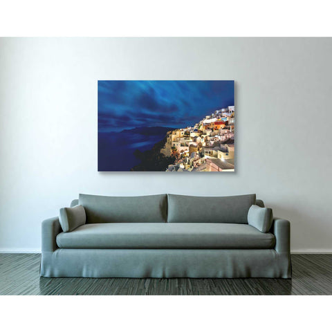 """Over Time Exposure,"" Giclee Canvas Wall Art"