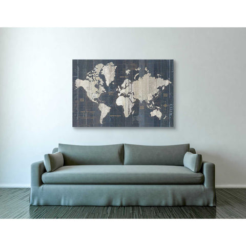 """Old World Map"" by Wild Apple Portfolio, Giclee Canvas Wall Art"