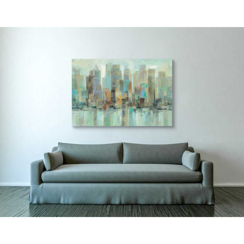 "Image of ""Morning Reflections"" by Silvia Vassileva, Giclee Canvas Wall Art"