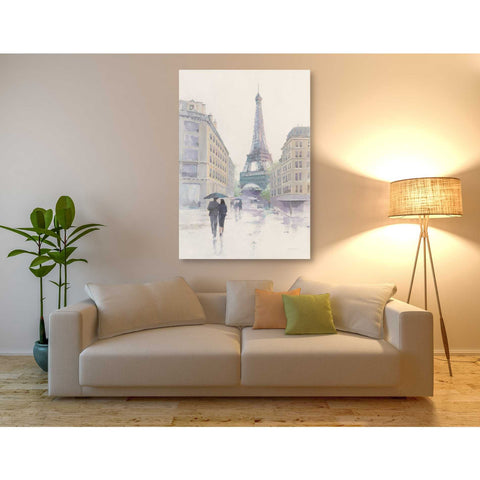 "Image of ""Walking in the Rain"" by Avery Tillmon, Giclee Canvas Wall Art"