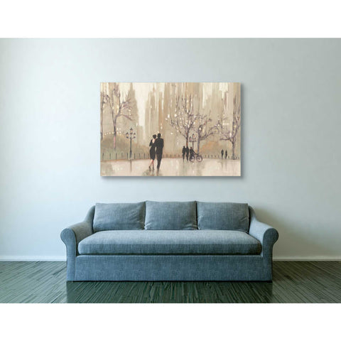 """An Evening Out Neutral"" by Julia Purinton, Giclee Canvas Wall Art"