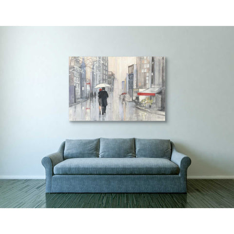"Image of ""Spring Rain New York"" by Julia Purinton, Giclee Canvas Wall Art"