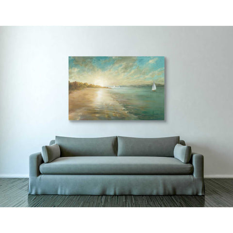 Image of 'Coastal Glow' by Danhui Nai, Canvas Wall Art,40 x 60