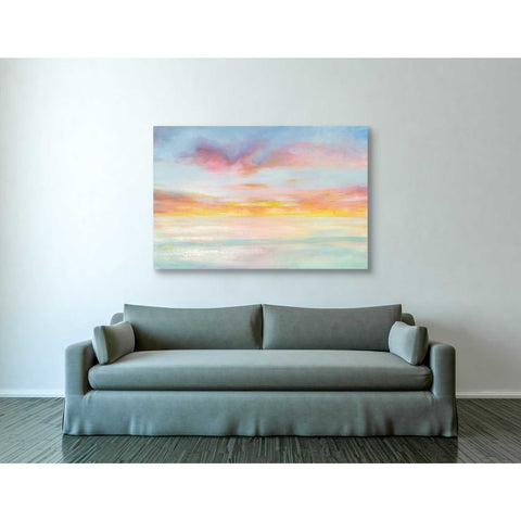 "Image of ""Pastel Sky"" by Danhui Nai, Giclee Canvas Wall Art"