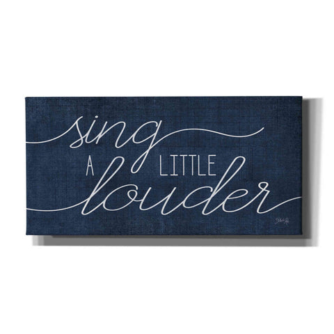 'Sing a Little Louder' by Marla Rae, Canvas Wall Art