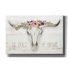 'Be Bold - Be Brave' by Marla Rae, Canvas Wall Art