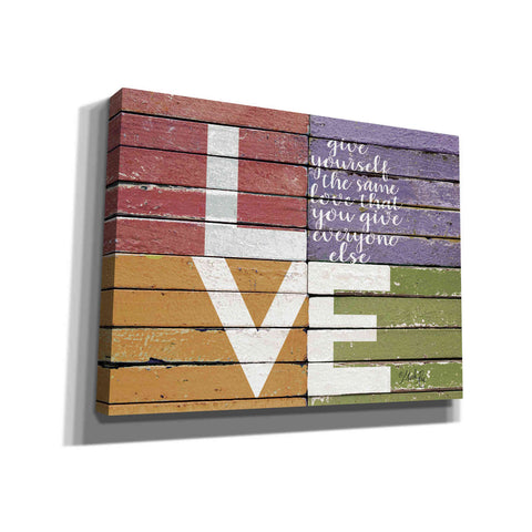'Give Yourself the Same Love' by Marla Rae, Canvas Wall Art