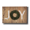 'Joy Cedar Wreath' by Susan Ball, Canvas Wall Art