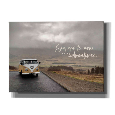 'Say Yes to New Adventure' by Susan Ball, Canvas Wall Art