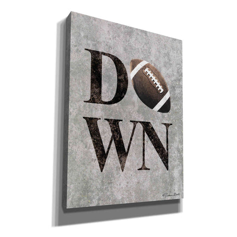 Image of 'Football DOWN' by Susan Ball, Canvas Wall Art