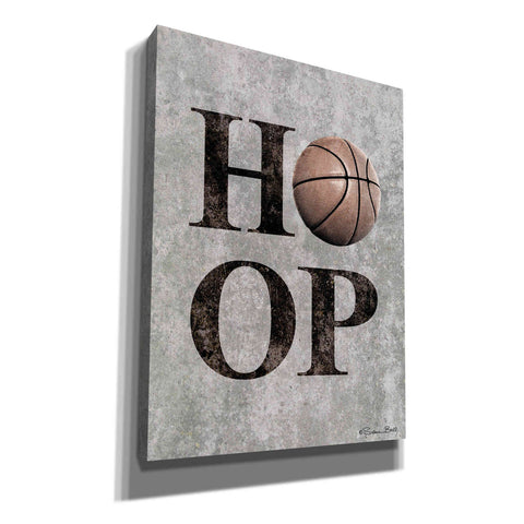 Image of 'Basketball HOOP' by Susan Ball, Canvas Wall Art