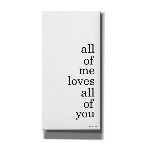 'All of Me' by Susan Ball, Canvas Wall Art