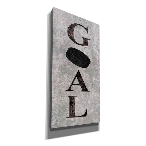 Image of 'Hockey Goal' by Susan Ball, Canvas Wall Art