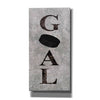 'Hockey Goal' by Susan Ball, Canvas Wall Art