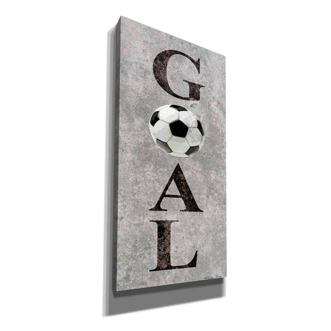 Image of 'Hockey Goal II' by Susan Ball, Canvas Wall Art