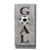 'Hockey Goal II' by Susan Ball, Canvas Wall Art