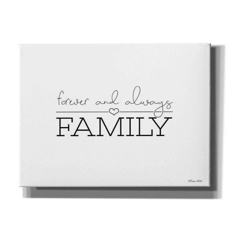 'Forever and Always Family' by Susan Ball, Canvas Wall Art