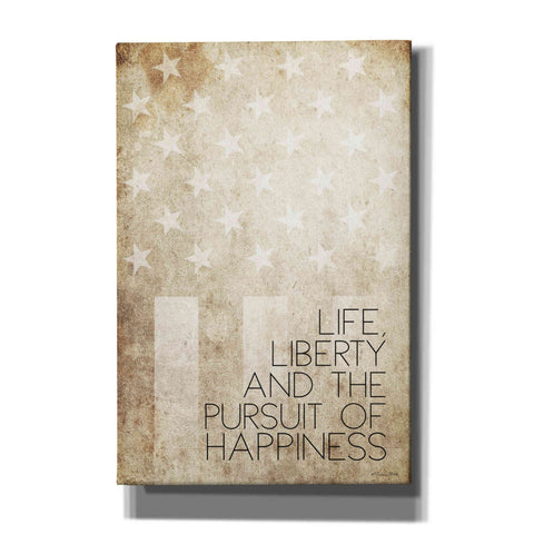 'Life, Liberty and Happiness' by Susan Ball, Canvas Wall Art