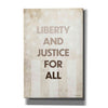 'Liberty and Justice For All' by Susan Ball, Canvas Wall Art