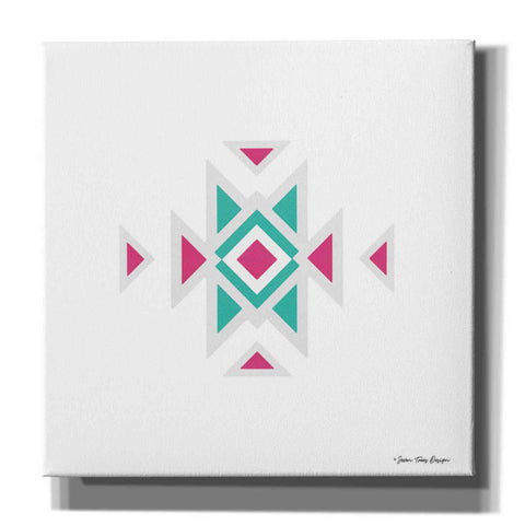 'Watercolor Aztec Art I' by Seven Trees Design, Canvas Wall Art