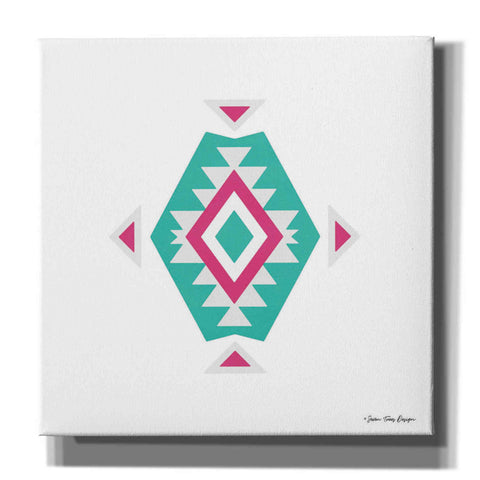 'Watercolor Aztec Art II' by Seven Trees Design, Canvas Wall Art
