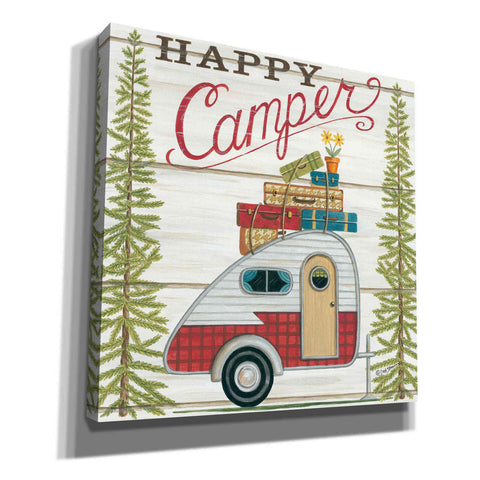 'Happy Camper' by Deb Strain, Canvas Wall Art