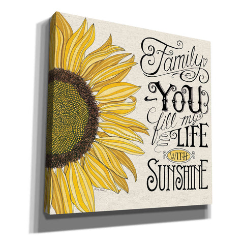 'Fill My Life With Sunshine' by Deb Strain, Canvas Wall Art