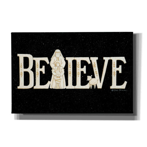 Image of 'Believe' by Deb Strain, Canvas Wall Art