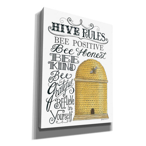 'Hive Rules' by Deb Strain, Canvas Wall Art