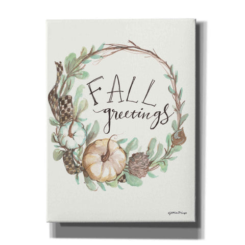 'Fall Greetings' by Jessica Mingo, Canvas Wall Art