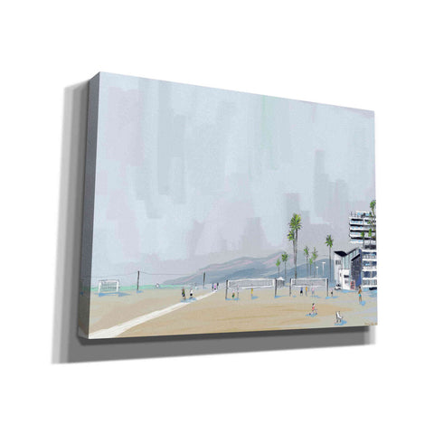 'Annenberg Beach House' by Pete Oswald, Canvas Wall Art