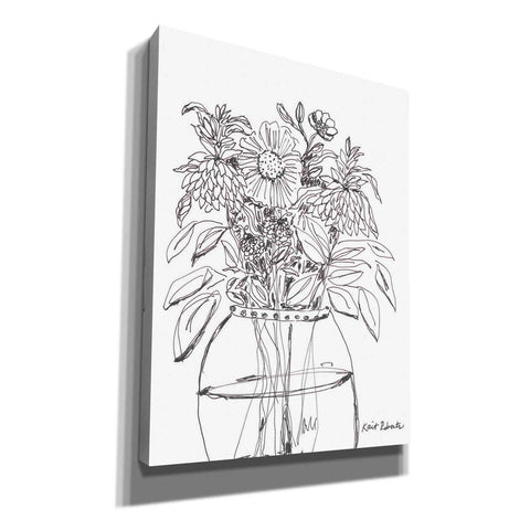 'Summer Garden in a Vase' by Kait Roberts, Canvas Wall Art