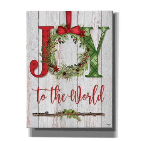 'Joy to the World' by Mollie B, Canvas Wall Art
