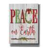 'Peace on Earth' by Mollie B, Canvas Wall Art
