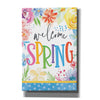 'Welcome Spring' by Mollie B, Canvas Wall Art