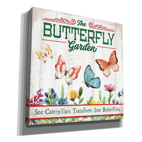 Image of 'Butterly Farm' by Mollie B, Canvas Wall Art